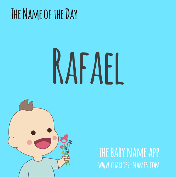#Rafael - the #babyname of the day! See more beautiful #babynames:  iPhone: https://t.co/nZiHGEuY7L Android: https://t.co/zNHsUARotL #name #names #nameideas #namesearch #pregnant #baby #parenting #Rafael #boynames #boyname #babyboy #boymom https://t.co/fjKEGO57t1