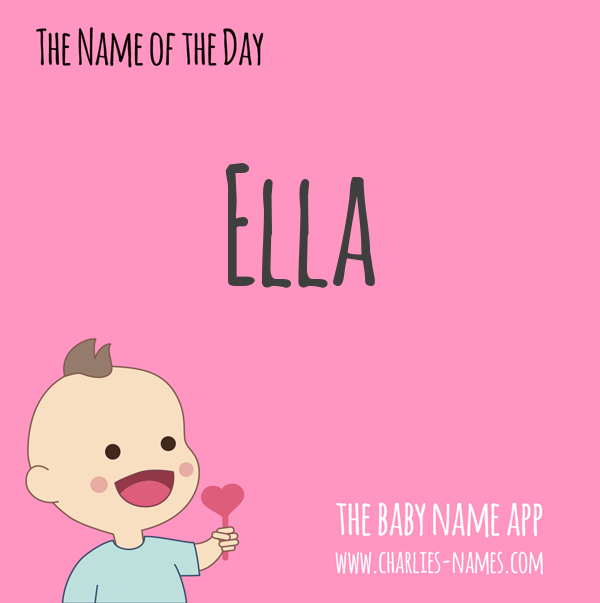 #Ella - the #babyname of the day! See more beautiful #babynames:  iPhone: https://t.co/nZiHGEuY7L Android: https://t.co/zNHsUARotL #name #names #nameideas #namesearch #pregnant #baby #parenting #Ella #girlnames #girlname #babygirl #girlmom https://t.co/1khrybDujJ
