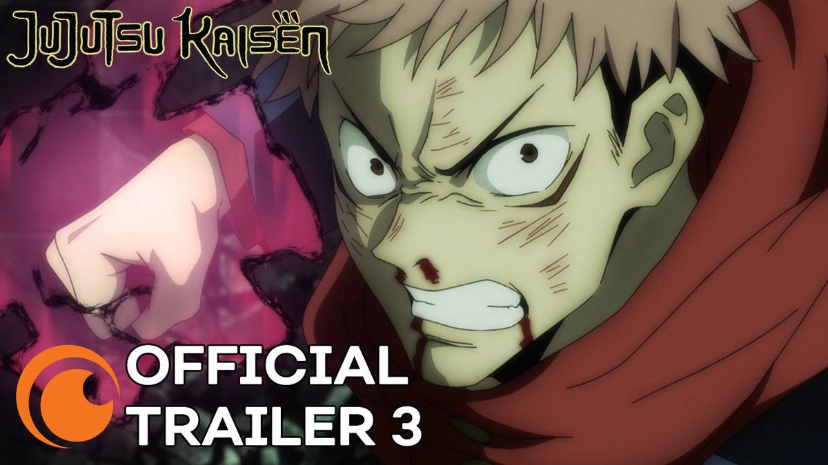 JUJUTSU KAISEN begins airing October 2nd on @Crunchyroll!