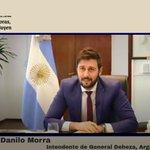 Image for the Tweet beginning: 🗣El intendente de @general_deheza Franco