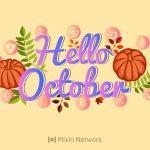 Image for the Tweet beginning: Hello October! & Welcome Autumn! #BTC #Ethereum