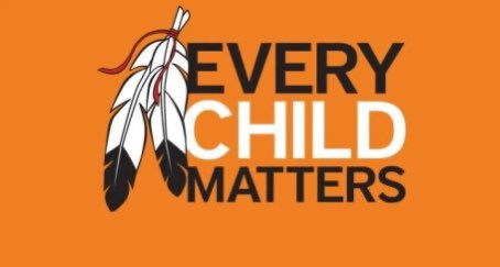 Today is #OrangeShirtDay We honour and remember the survivors of residential schools and those who never made it home. #ldnont @CMHAMiddlesex