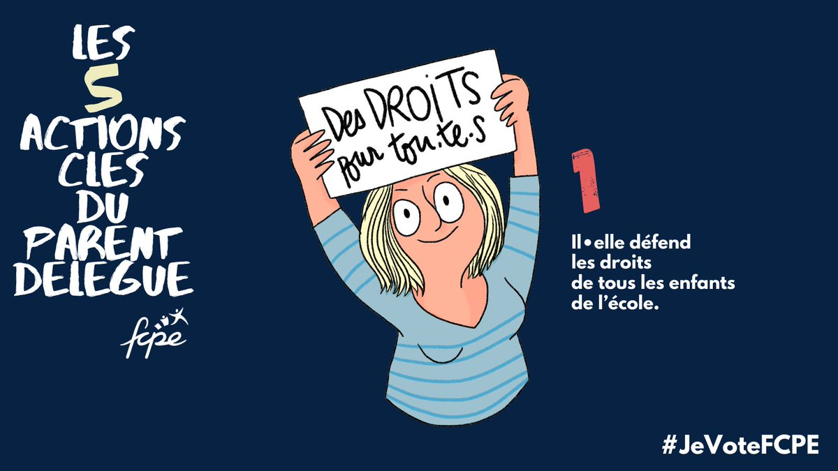 test Twitter Media - Pour défendre nos enfants fort comme on les aime, le 9 ou le 10 octobre, #JeVoteFCPE. https://t.co/4yYtbvB3gd