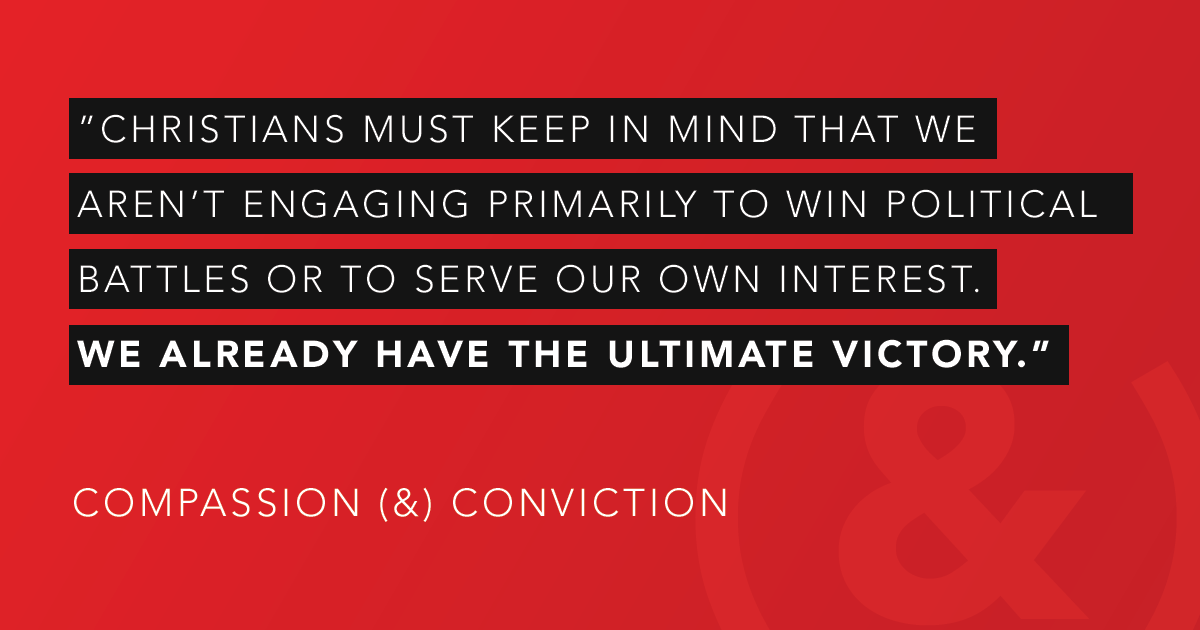 The authors of 'Compassion (&) Conviction' bring us a crucial reminder during this election season.   @JustinEGiboney @MichaelRWear @Christhecitizen @AndCampaign #CompassionAndConviction  Available at https://t.co/tJXdeDhroE. https://t.co/jePviM9CIo