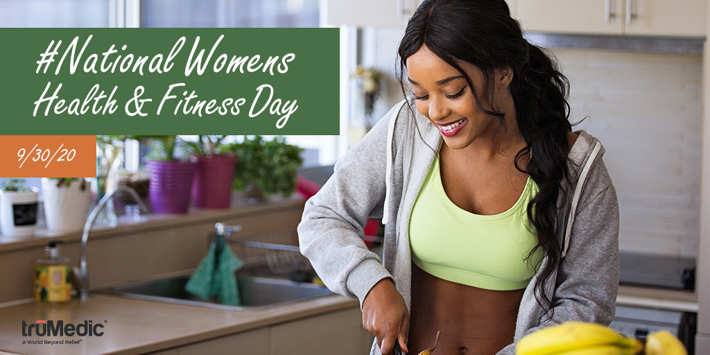It's #NationalWomensHealthAndFitnessDay! Today focuses on the importance of regular #PhysicalActivity and #HealthAwareness for women. Ease the toll on your body and support your #MuscleRecovery with #truMedic, we promise your body will thank you!   Visit: https://t.co/NYnK7yJx75 https://t.co/fayiezopr3