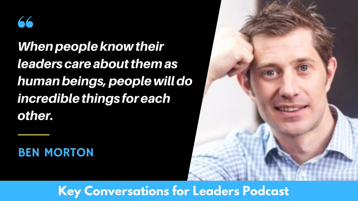 When people know their leaders care about them as human beings, people will do incredible things for each other. ~ Ben Morton @BMLeadership #quote https://t.co/k07KdpKh4C
