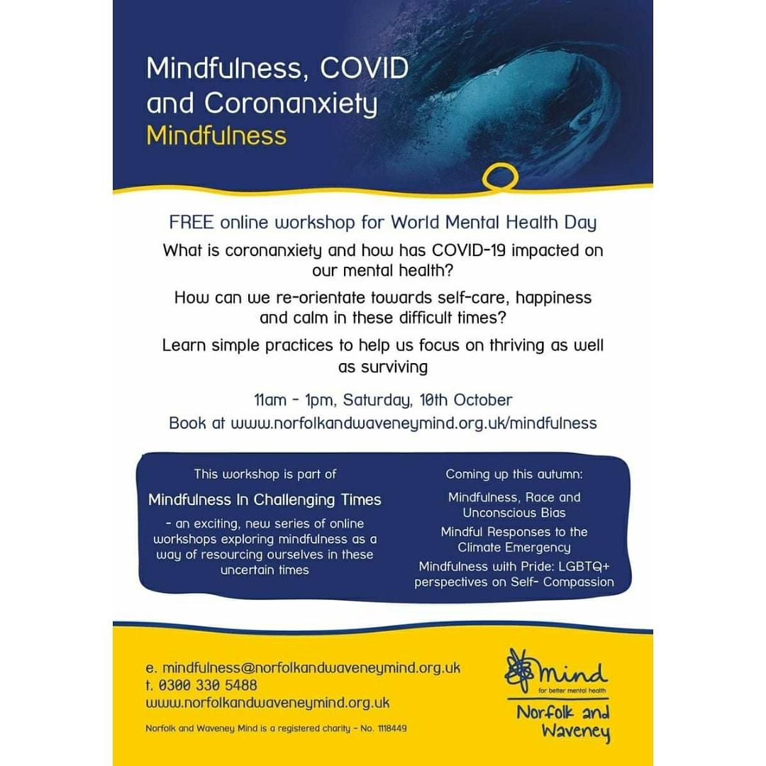 FREE COVID mindfulness workshop!👏