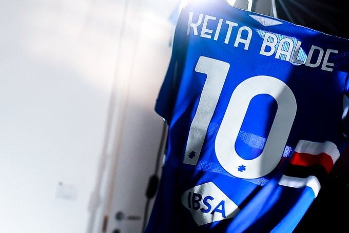 OFICIAL: Keita Baldé (Monaco) cedido a la Sampdoria. Qué fichaje se han marcado en Italia. Ex Lazio. En su mejor momento era un portento vertical atacando. Veamos como se encuentra https://t.co/pFLFCl9RGj