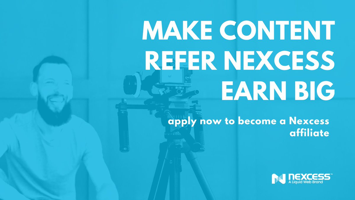Are you a #contentcreator and loving Nexcess? Be sure to sign up as a #hosting #affiliate so you can cash in on those commissions! We're known for hosting SUPER fast #ecommerce sites, and your followers will love us too. Apply here: https://t.co/7055Q8Y6se https://t.co/hnzr4kGveZ