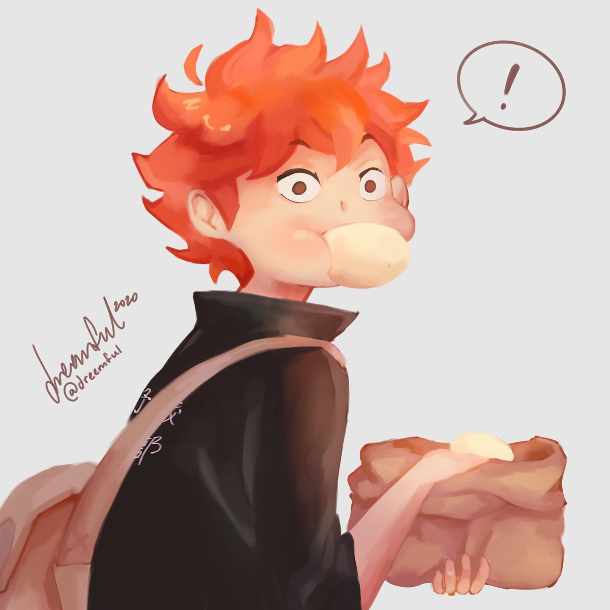 Happy Wednesday! I'm trying to watch more of BNHA so I can get more ideas for art for ya guys 💛💛 (also I love that anime sm!! Ty mia for introducing it to me😪💛)  #Haikyuu #illustration https://t.co/xTujIVp3SC