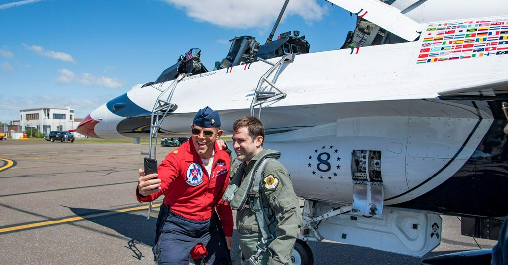 I flew in an F-16 with the Air Force and oh boy did it go poorly https://t.co/NnW6SNDUhQ https://t.co/tYeR6fc5Xo
