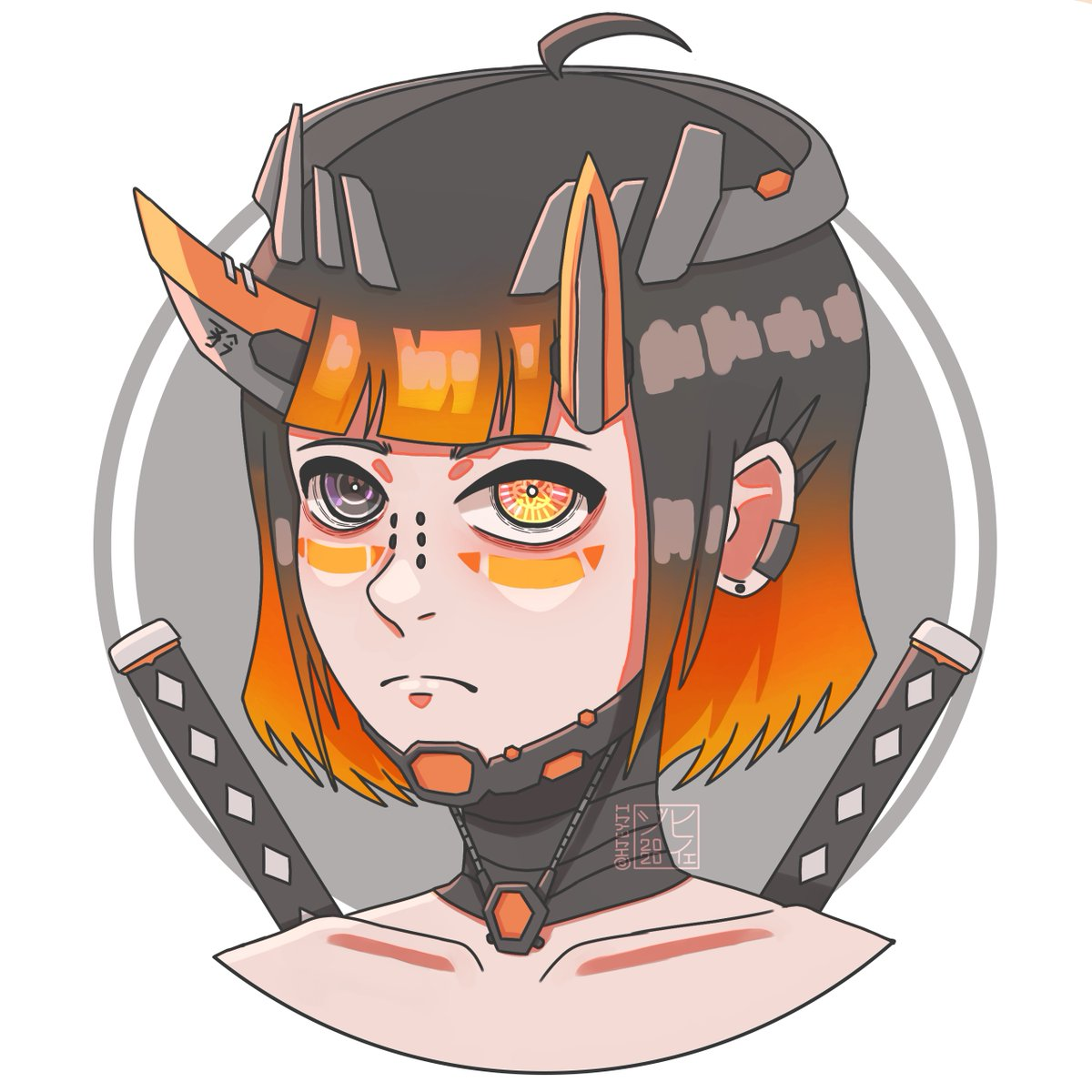 Finished my OC icon! Did two versions one being cel-shaded and the other with how I normally color my artworks. Which one for you looks better? C:  #art #artph #artistsontwitter #ArtistsofSEA #Cyberpunk2077 #cyberpunk #cyber #Cyborg #OC #originalcharacter #illustration https://t.co/VnsIldQHXk