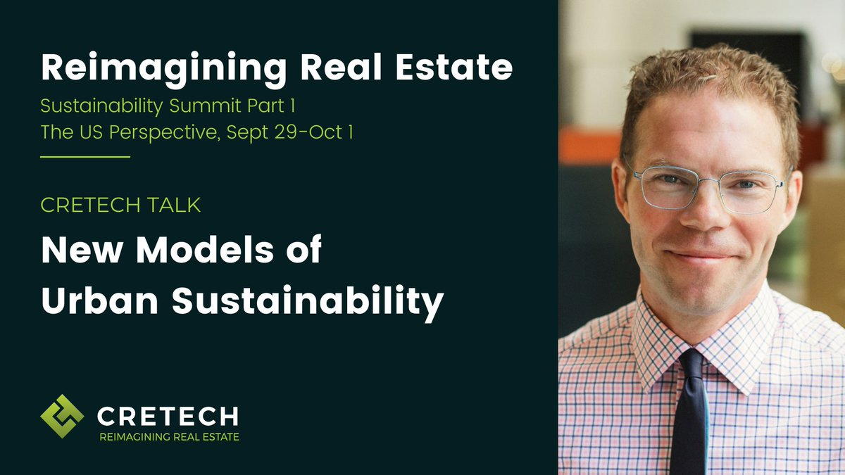 UP NEXT! Solo Presentation from @Greg_Lindsay, Director of Research of @NewCities on New Models of #Urban Sustainability - at the #ReimaginingRealEstate #Sustainability Summit  Join now >> https://t.co/9okKFvC3Z0  #CREtech #realestate #CRE #healthandwellness #builtworld https://t.co/VE1H1PipeN
