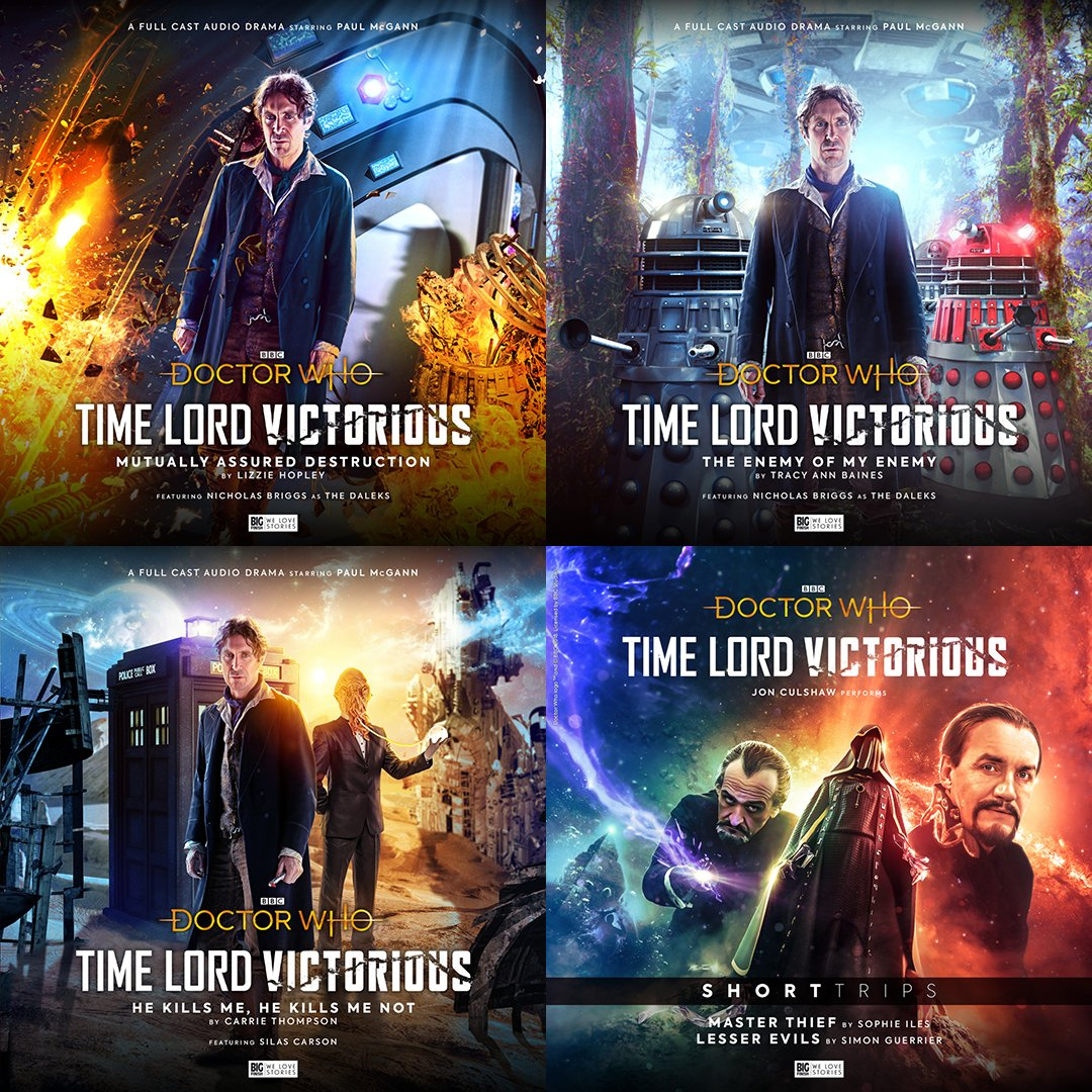 AND THERE'S MORE! Shop the full Big Finish #TimeLordVictorious range here: https://t.co/kwR6xpjtdt https://t.co/IZHIyYTh0J
