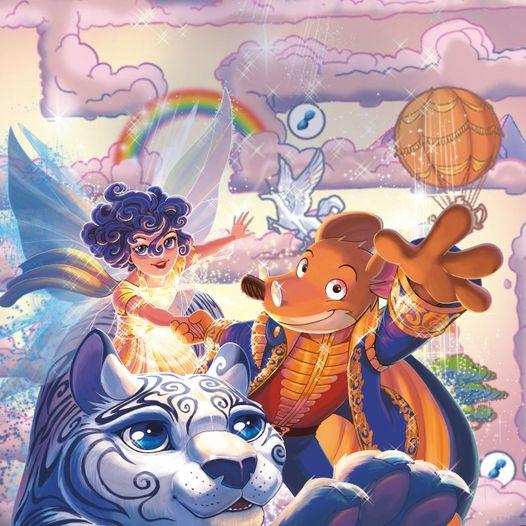 #WednesdayWisdom a little fantasy time is always good! #GeronimoStilton #KingdomofFantasy #Books #Read #Family #Adventures @Scholastic https://t.co/MB7FmFCRb1
