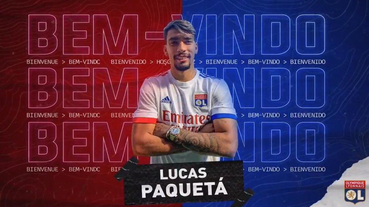 OFICIAL: Lucas Paquetá al Lyon. Una pena, en el Milan le esperaban como el nuevo Kaká y se fue apagando poco a poco. Ojalá Rudi García le recupere en la Ligue 1 https://t.co/nQa6s4GQRj