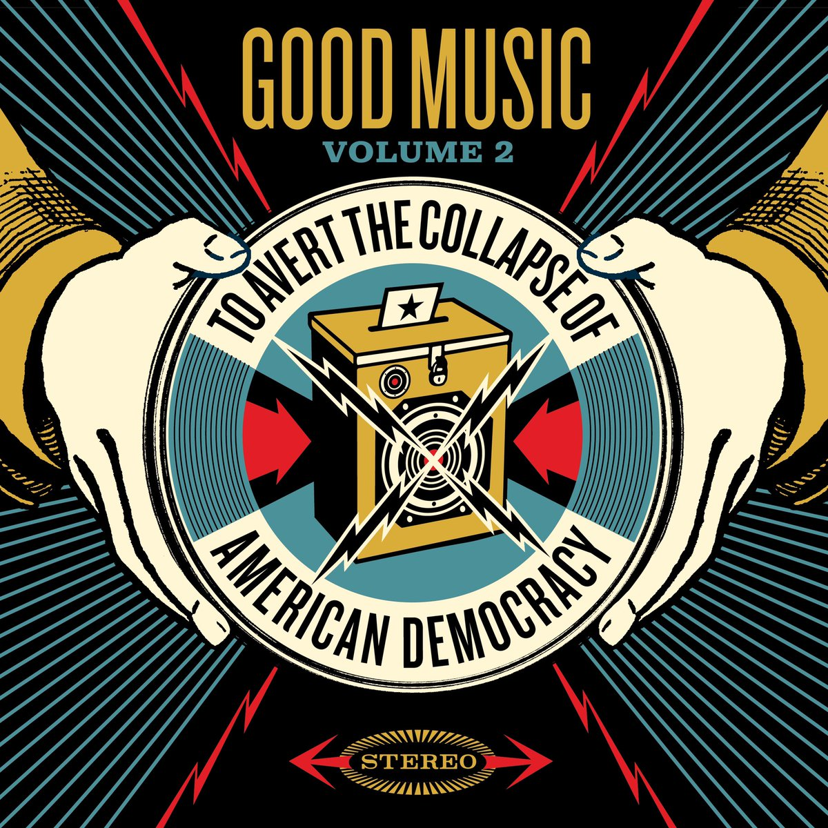 Very excited to be a part of 'Good Music To Avert The Collapse Of American Democracy - Volume 2' a fundraising compilation album available for ONE DAY ONLY this Friday 10/2 on @Bandcamp !! All proceeds go to @votingrightslab.  https://t.co/bT0PGSq7rW https://t.co/IXKqUquWqU