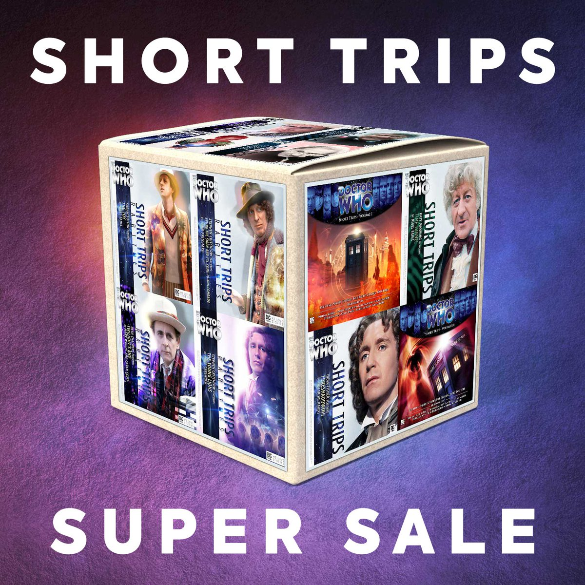 ENDS TOMORROW! Take a Short Trip for up to 50% OFF here: https://t.co/hrkzFUfQfA (Ends 23:59 UK time 01 October) #DoctorWho https://t.co/KrMb9hejL5