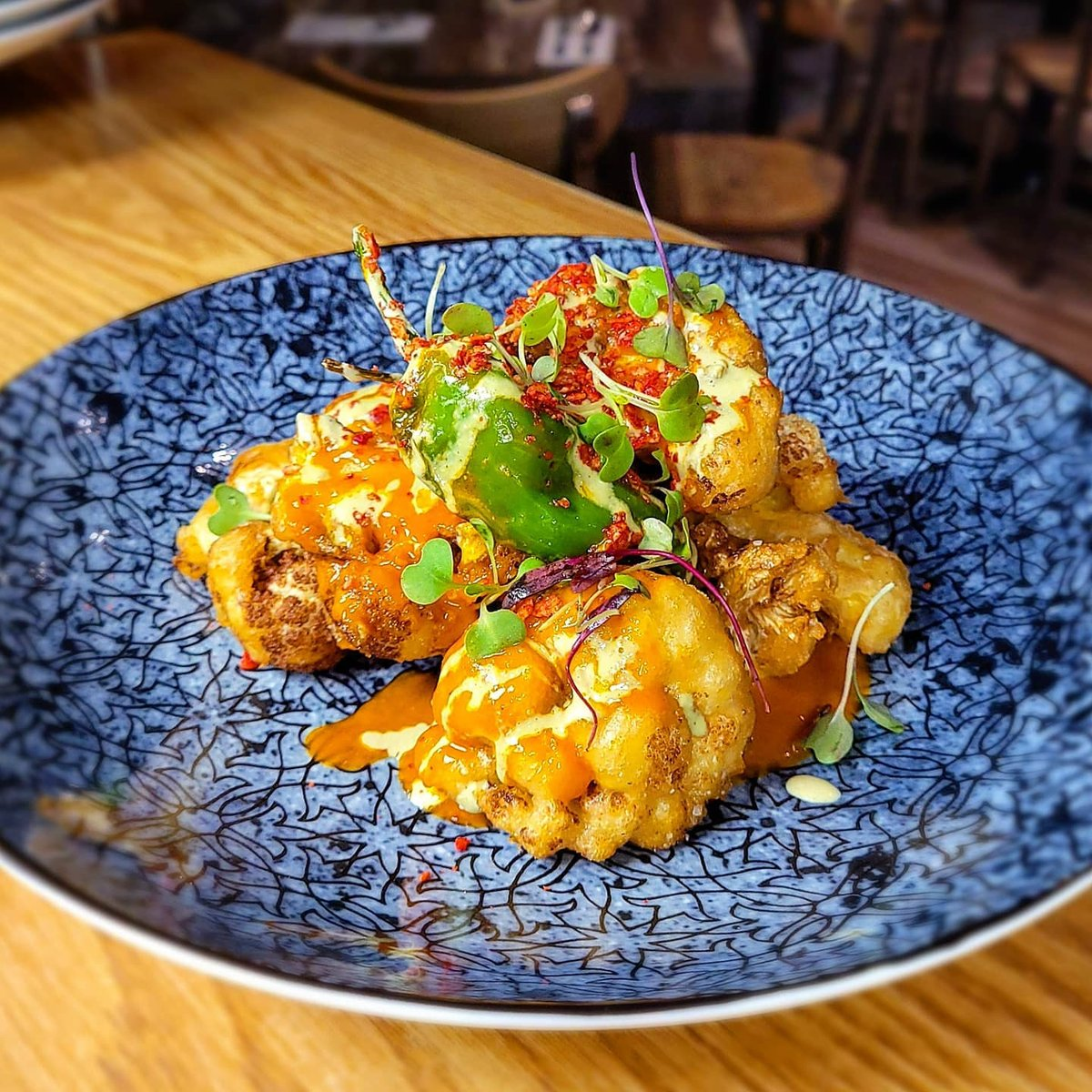 Fresh Origins On Twitter Buffalo Cauliflower By Chef John Creger Chefjohncreger At Fuisinebaltimore Got Us Like Eatlocal Supportsmallbusiness Saverestaurants Https T Co Kzijj1dz5t