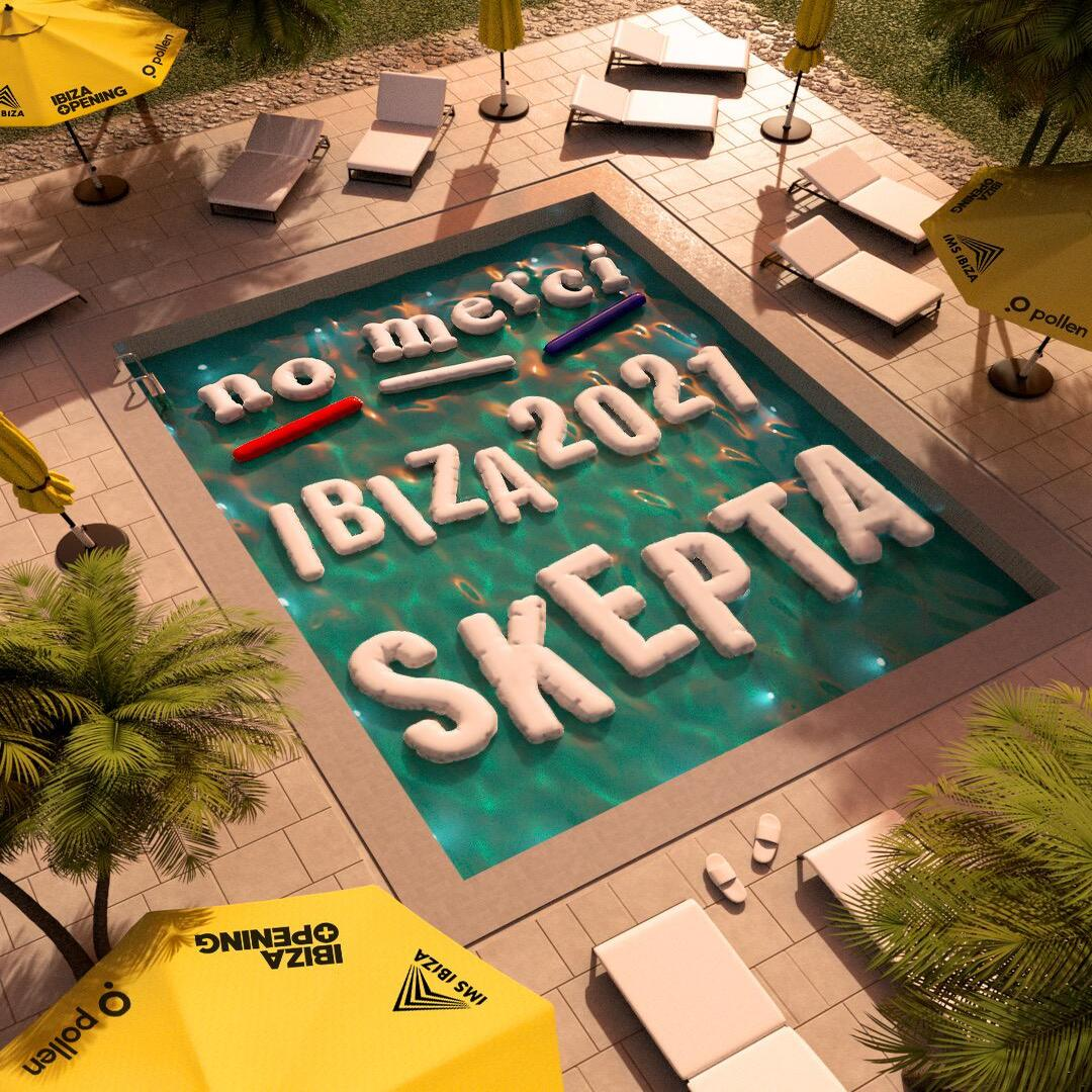 ! NO MERCI CLUB BROADCAST !  Been excited to announce this for a minute, No Merci returns in 2021 and this time we're heading to Ibiza with @Skepta for @IMSibiza  Link in bio for access to first sale tickets.  #IBIZA #Skepta #Nomerciclub #2021 #ibizaweekender #bankholidayweekend https://t.co/5qOFaPelsj