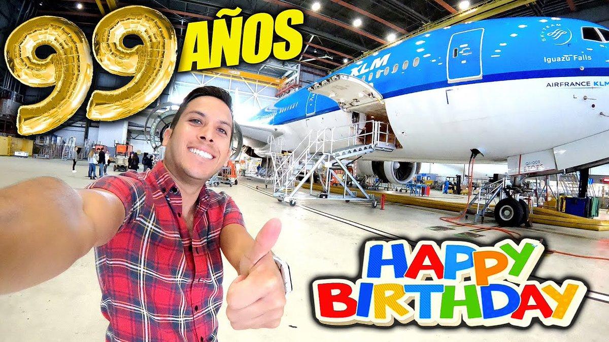 Hace casi 2 años, la aerolínea más antigua del mundo, @KLM cumplió 99 años y viajamos hasta Amsterdam para celebrarlo!  En este video te comparto la experiencia!😃 VIDEO👉🏾 https://t.co/jczrMA3osN https://t.co/ussyS7pwsw