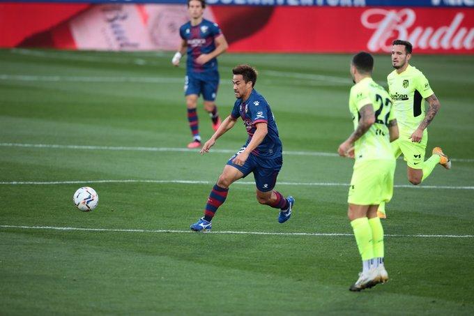Shinji Okazaki no ha estrenado las porterías de Primera División (0 goles) | @SDHuesca