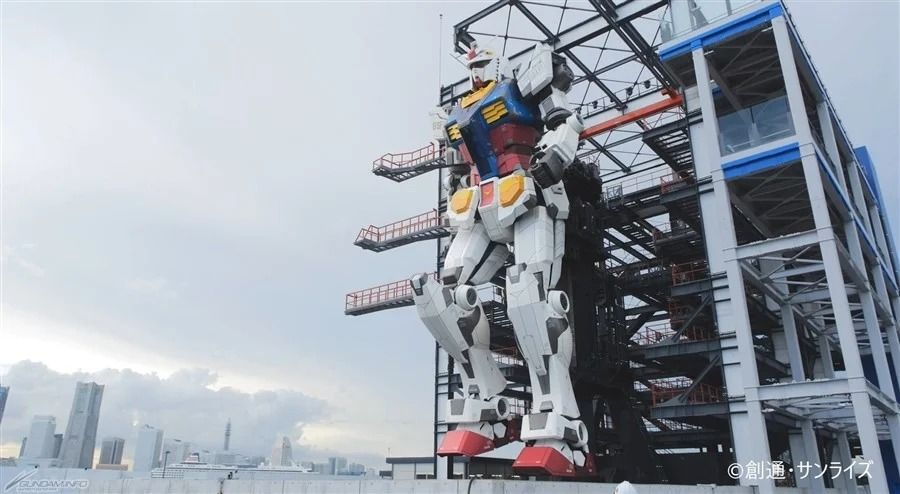 NEWS: Gundam Factory Yokohama To Officially Open On December 19, Moving Gundam and All ✨ More: got.cr/yokohamaG