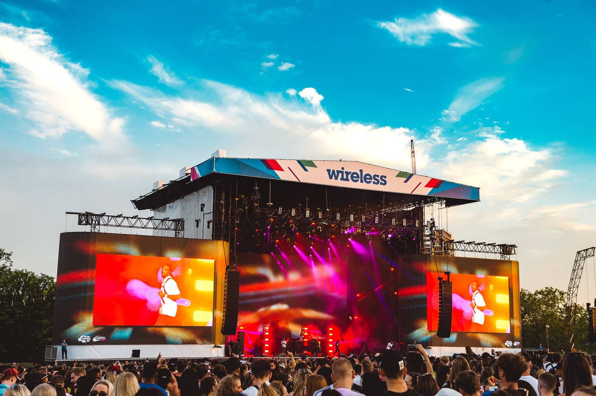 2021 Wireless Festival lineup