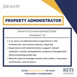 Image for the Tweet beginning: RETS is seeking a Property