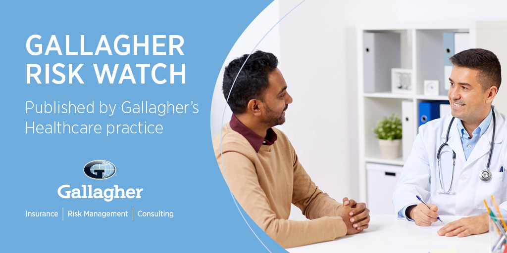 💡Don't miss the September edition of Gallagher Risk Watch: A #RiskManagement and #Safety newsletter for the #Healthcare industry. Download now! bit.ly/33g432W