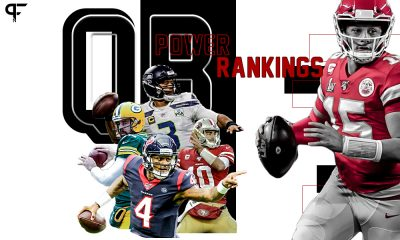 Before Week 4 of the #NFL begins tomorrow night, catch up on who's up and who's down in this week's @PFN365 #QBPowerRankings.  Updated today 👇🏼 https://t.co/q7FMhOYDGV https://t.co/lpPiVplHxQ