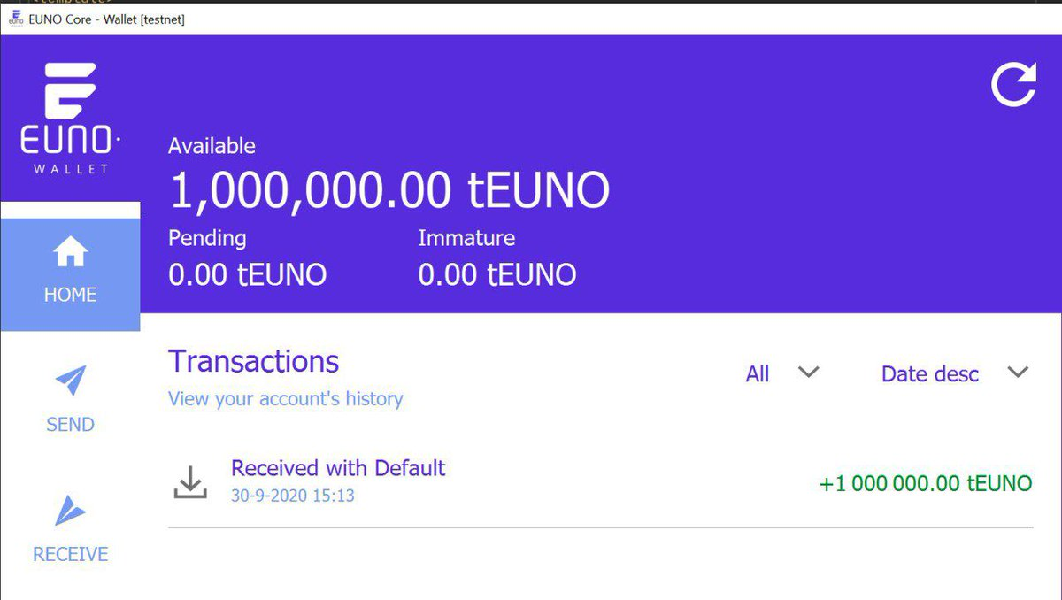 In seven days from now @EunoCoin 's mainnet will go live. That being said, looking forward to a successful token swap and everything that will come with it!  High expectations for $EUNO in the mid-term 😎👏  #Cryptocurrency #Blockchain #Mainnet #Cryptotrading #EUNO https://t.co/e0n69Thxbi