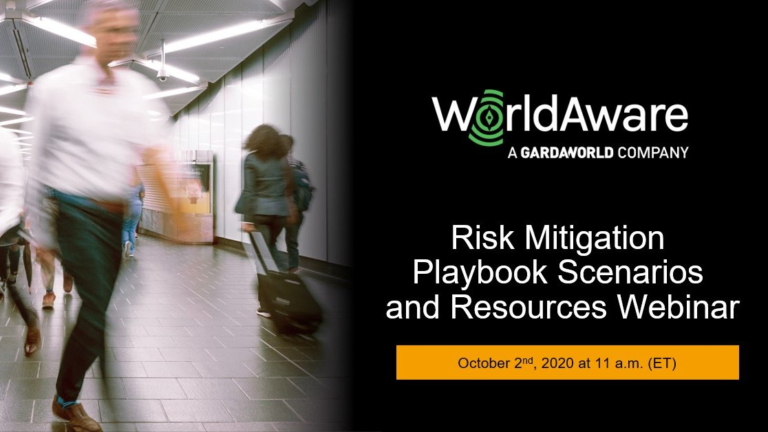 Join the Founder of @WorldAwareIntl - a GardaWorld company, in this #GBTA Collaboratory session along with other members of the GBTA Risk Committee and learn how to recognize and minimize new risk gaps around business travel.  Register here: https://t.co/OYOnMGJ6YO https://t.co/4ZNwNhSIqx