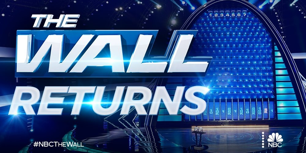 Are you ready for more #NBCTheWall? 💰