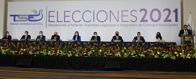 TSE convoca a elecciones legislativas y municipales 2021