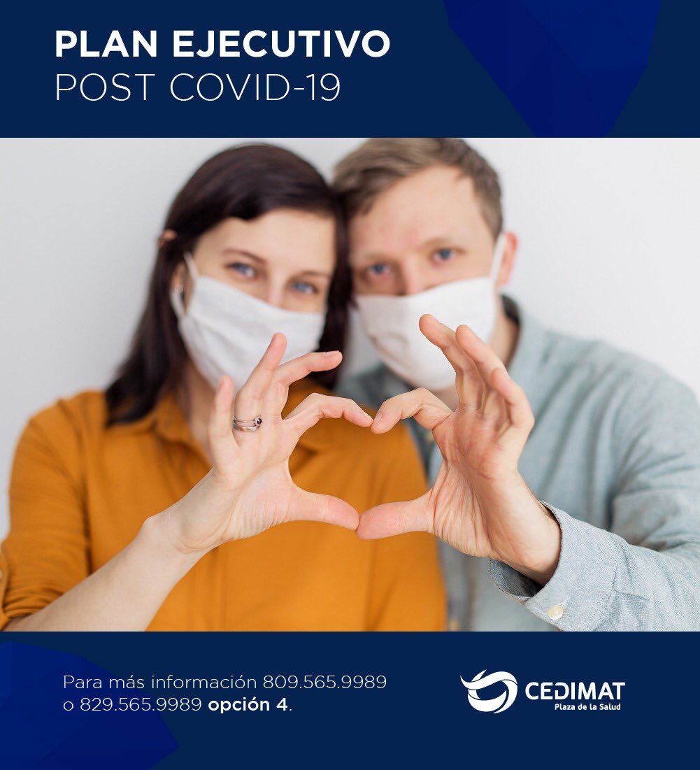 El Plan Ejecutivo Post Covid-19 es una variante de Plan Ejecutivo que incluye una consulta con un médico otorrinolaringólogo, para revisión de las vías respiratorias altas. https://t.co/WjqNGVlTEe