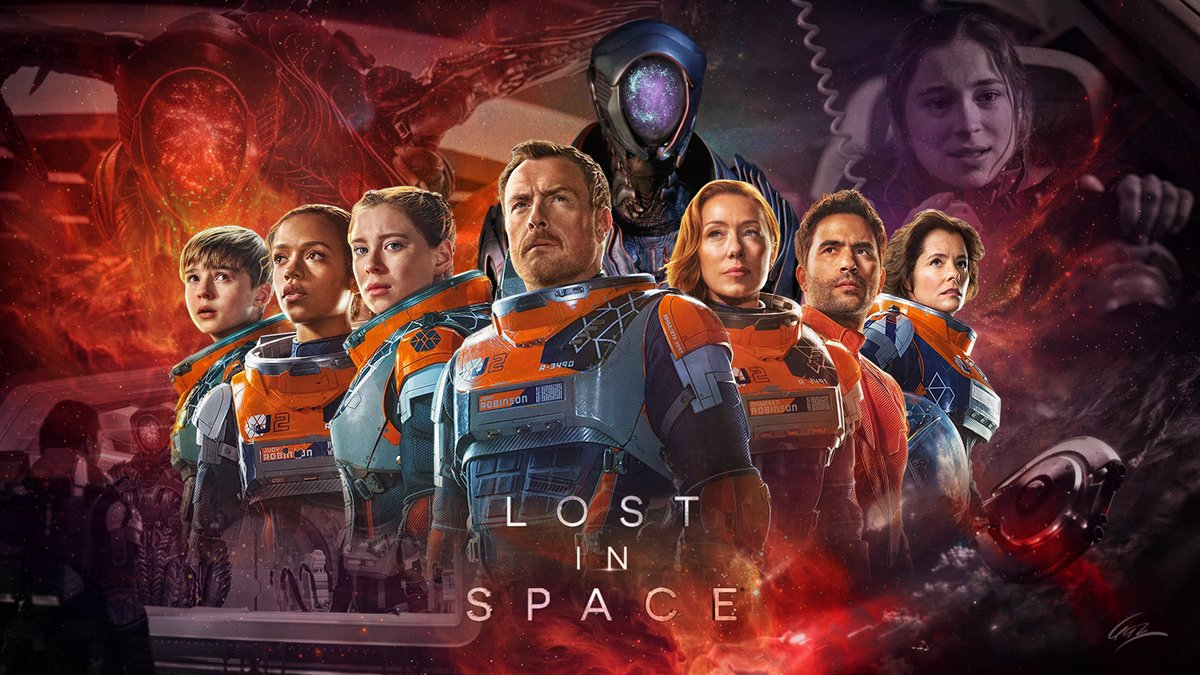 I just made a Lost in Space wallpaper @MinaSundwall #LostInSpace https://t.co/2veg5dCIJx