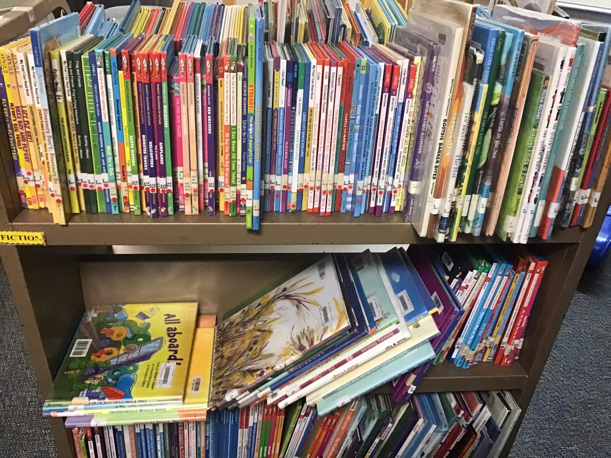 """So excited to get some library books out to our PreK-1st graders  this week! Hope you enjoy Mrs. Parente's """"Pawsome Picks"""" 😊 Thank you for your patience and we hope to add other grades soon! <a target='_blank' href='http://twitter.com/APS_ATS'>@APS_ATS</a> <a target='_blank' href='http://twitter.com/APSLibrarians'>@APSLibrarians</a> <a target='_blank' href='https://t.co/QCkv2XOOF7'>https://t.co/QCkv2XOOF7</a>"""