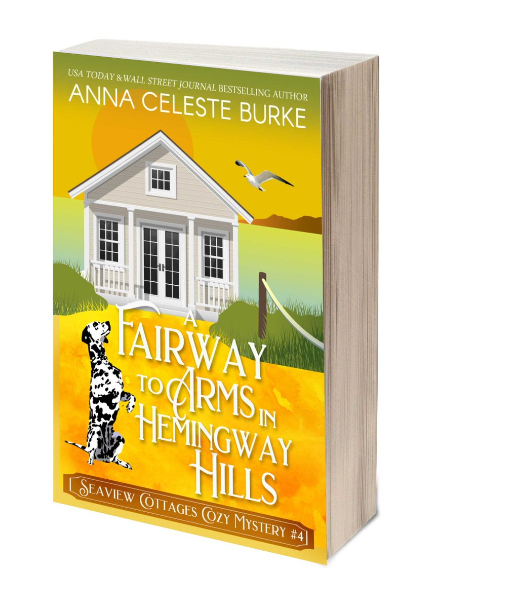 "When there's trouble at the swanky resort, it's time to go for the G.O.L.D. ★A FAIRWAY TO ARMS IN HEMINGWAY HILLS★ 🦉   #ASMSG #bookstoread ""@aburke59 ✎via Pizzazz Book Promotions"