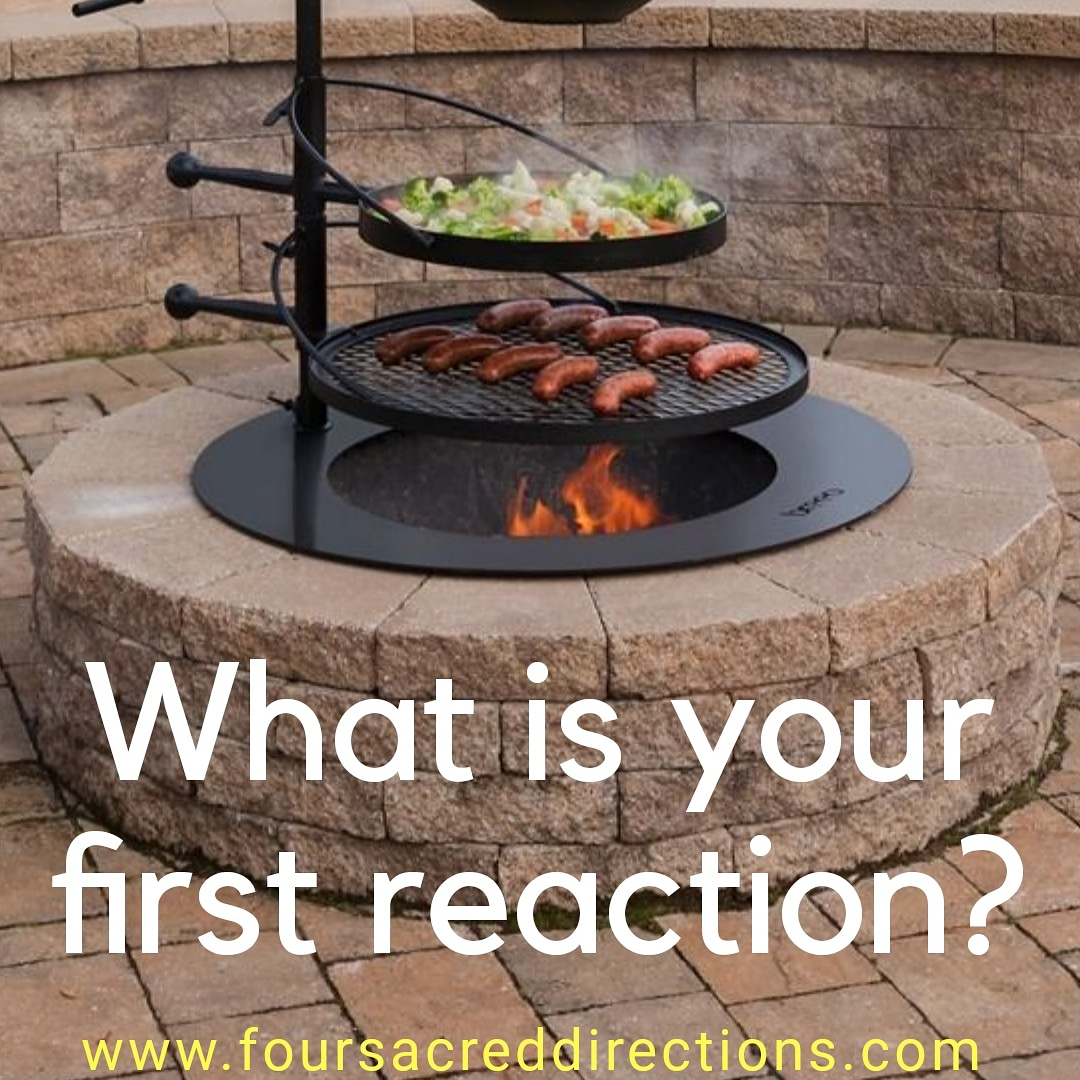 Post your first thought when you look at this #firepit 🔥 I would of #grilled steaks, lol https://t.co/mk8tXhHLfa