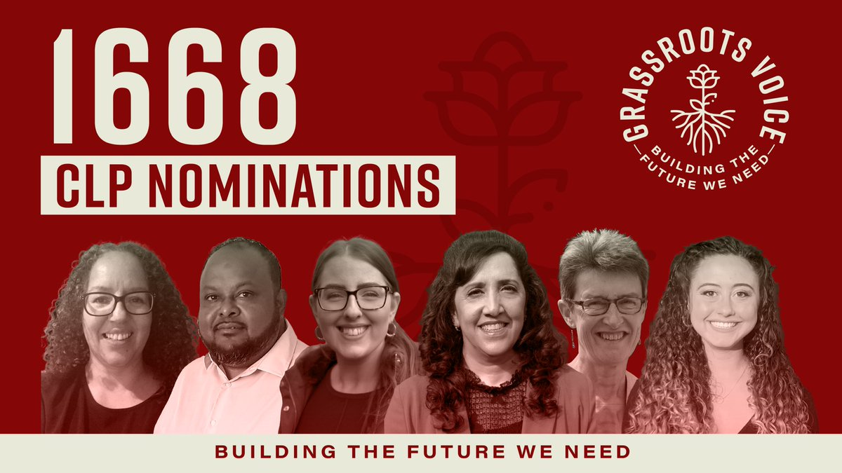 Thank you so much for nominating the #GrassrootsVoice NEC candidates at your CLPs 🔥 Now they need your help to get elected onto the NEC so we can represent you 💥 RT to back a transformative Labour Government, socialist policies & a democratic party ⬇