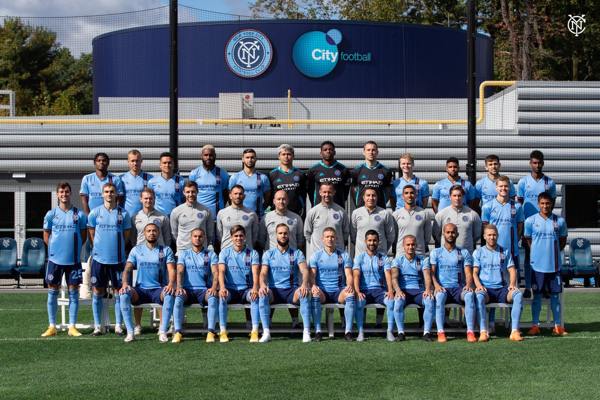 It's picture day! 📸  Check out your 2020 First Team 🤩 #NYCFC https://t.co/wkGT04xw1J