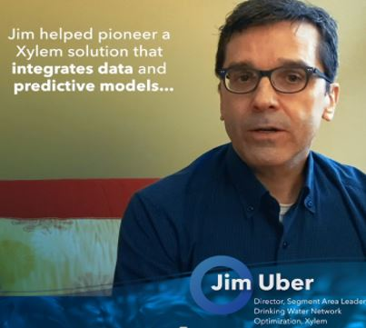 Xylem's Jim Uber charts his journey to becoming a water innovator and how his work with Xylem is helping communities become more resilient and sustain...