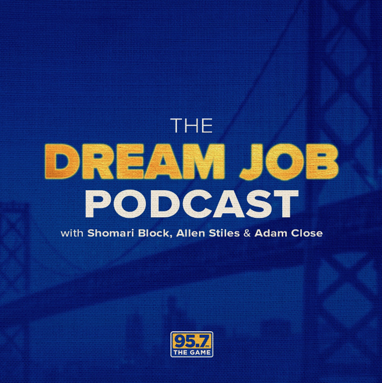 🎙️Happy #InternationalPodcastDay!🎙️  On the latest Dream Job Podcast with @theblockishot3, @The_StilesFiles and @ACCLOSE:  *NBA Finals predictions *All things MLB playoffs *NFL power rankings  TUNE IN 🎧 https://t.co/6WYRy6Xtsa https://t.co/b057cbTJPH