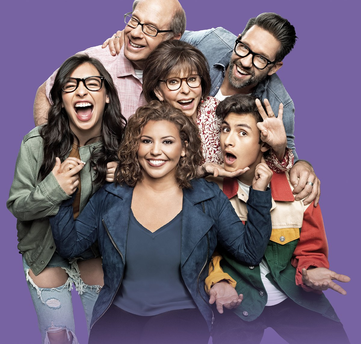"""45 years after its original premiere, the reimagined One Day At a Time returns to #CBS, Oct. 5 at 9:00 PM. Legendary producer Norman Lear says The times have changed, obviously the cast has changed, but the values remain the same – love and family make everything worthwhile."""""""
