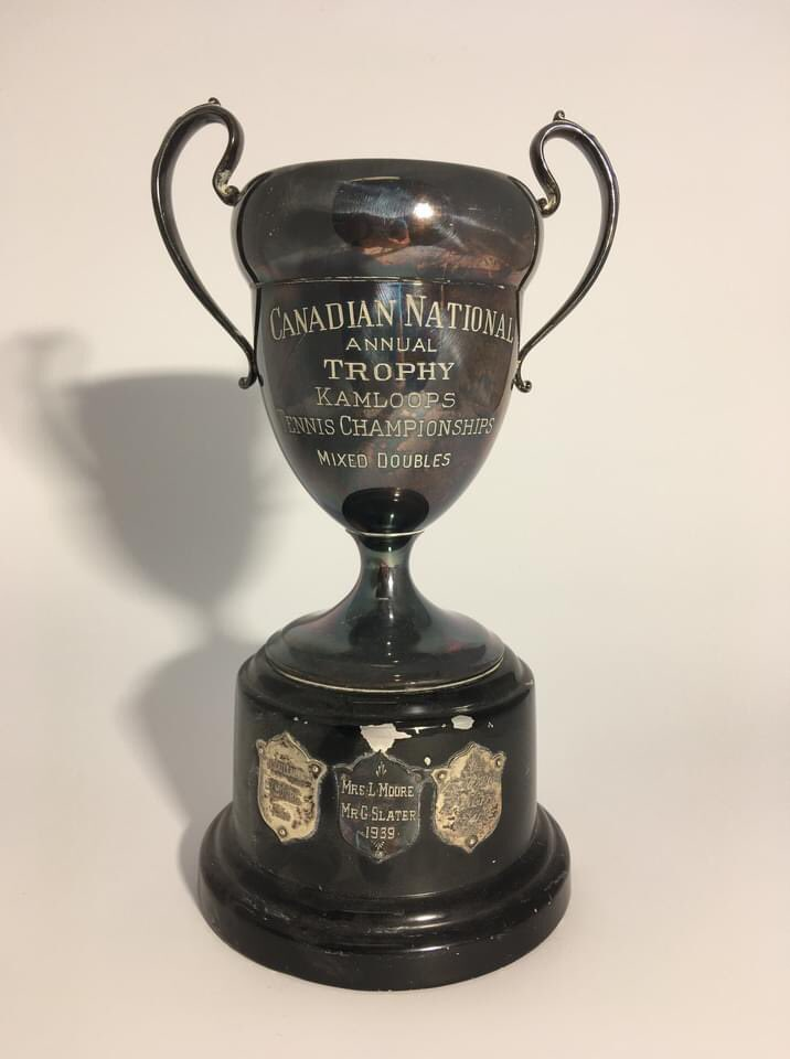 "Tomorrow kicks off Women's History Month, so join us on social media as we explore the exceptional women of Kamloops' past (and present in a few cases)! They're all champions in our eyes, but the ladies mentioned on this trophy fit the definition to a ""tee"" as they won the... https://t.co/lpTkzKG5B0"