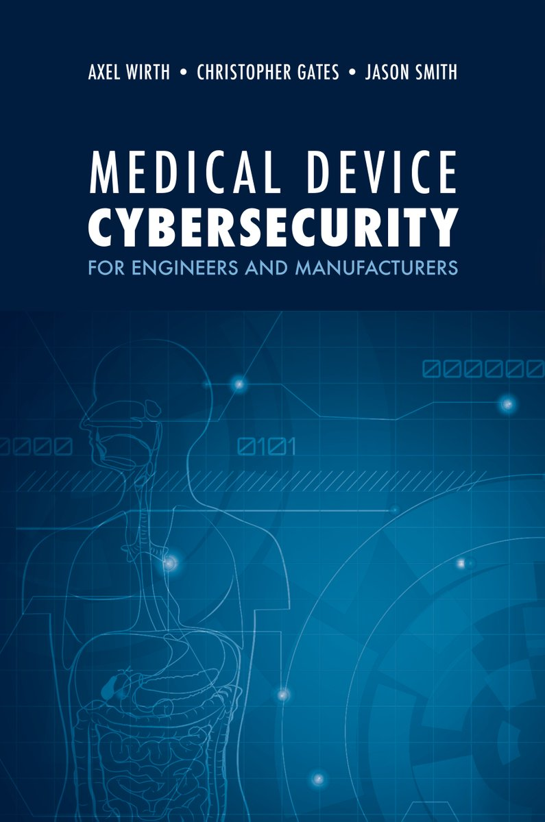 It's the last day to take advantage of prerelease pricing on this runaway bestselling book, designed to help all stakeholders lead the charge to a better medical device security posture and improve the resilience of our medical device ecosystem!  https://t.co/k9EJOY0D03 https://t.co/vQGXdhR9l6