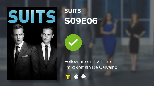I've just watched episode S09E06 of Suits! #Suits  #tvtime https://t.co/tR2ovgoySR https://t.co/5pPlrcEe4f