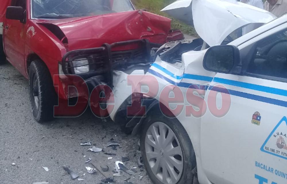#AlMomento Cuatro persona lesionadas es el saldo de un accidente cerca de #Bacalar. https://t.co/YSLAhDsbFk https://t.co/XBxzZ9eAdE