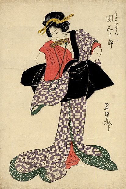 The Kabuki actor Seki Sanjuro, by Utagawa Toyokuni Ⅰ (1769-1825)  #ukiyoe https://t.co/p1YkoPTDOz